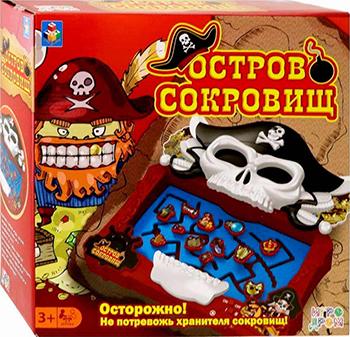 Фото - Игра настольная 1 Toy ИГРОДРОМ ''Остров сокровищ'' Т13565 настольная игра 1 toy игродром логические опыты