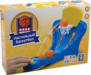 Фото - Игра настольная 1 Toy ИГРОДРОМ ''Настольный баскетбол'' Т10823 настольная игра 1 toy игродром логические опыты