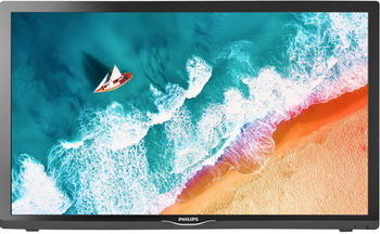 Фото - LED телевизор Philips 24PHS4304/60 профессиональная панель 24 philips 24bdl4151t 00 black multi touch led 1920x1080 5 mc 170° 160° 250 cd m 1000 1