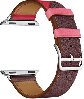 Ремешок для часов Lyambda для Apple Watch 38/40 mm MAIA LWA-03-40-BRR ремешок для смарт часов bikson stenless для apple watch 38 40 серебристый