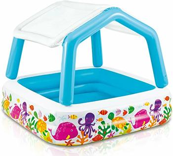 Надувной детский бассейн Intex 57470NP intex детский надувной бассейн зоопарк intex