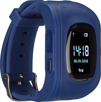 Детские часы с GPS поиском JET KID START темно-синий jet kid smart синий