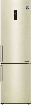 цена на Двухкамерный холодильник LG GA-B 459 BEKL бежевый