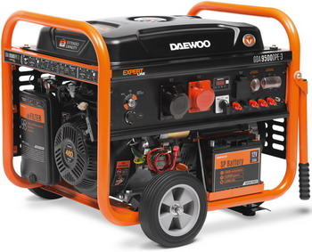 Электрический генератор и электростанция Daewoo Power Products GDA 9500DPE-3 электрический генератор и электростанция daewoo power products ddae 9000 dxe 3