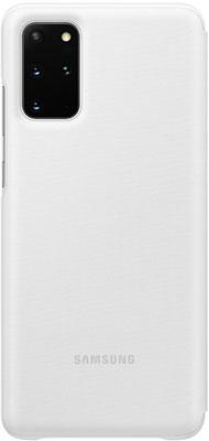 Чехол (клип-кейс) Samsung S20plus (G985) LED-View white EF-NG985PWEGRU аксессуар чехол samsung galaxy note 8 led view cover gold ef nn950pfegru
