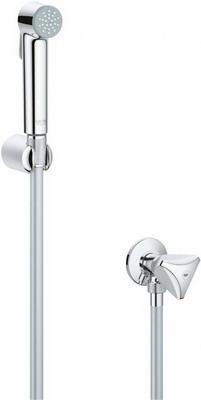 Набор для гигиенического душа Grohe Tempesta-F с угл.вент 26357000 стакан для ванной комнаты verran luma 251 25 серебристый