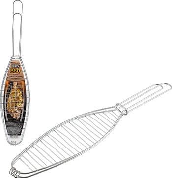 Решетка рыбная для барбекю/гриля Ecos RD-668 размер: 27*9 см 999668 решетка для барбекю ecos fry 2025 999664