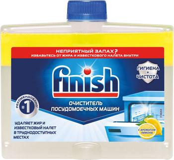 Средство чистящее FINISH д/пмм 3077805 250 мл с ароматом лимона средство обезжиривающее д стиральных и пмм topperr 50 г
