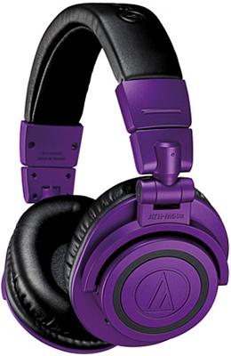 Фото - Беспроводные наушники Audio-Technica ATH-M50XBTPB беспроводные наушники audio technica ath s200bt gray blue