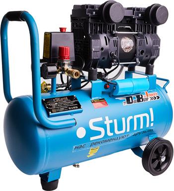 Компресссор безмасляный бесшумный Sturm AC93224OL