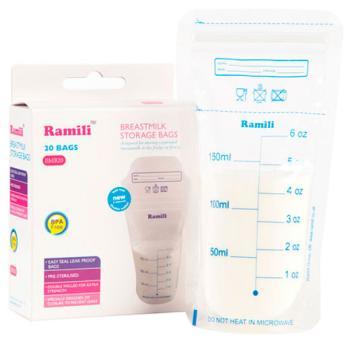 Пакеты для хранения грудного молока Ramili Breastmilk Bags BMB 20