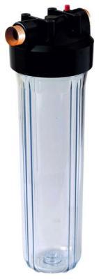 Сменный модуль для систем фильтрации воды Гейзер Корпус 20 BB прозрачный цена и фото