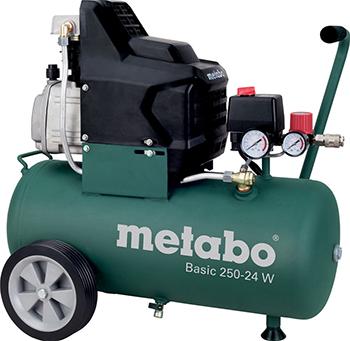 Компрессор Metabo Basic 250-24 W (601533000) компрессор metabo mega 350 100 w 601538000