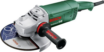 Угловая шлифовальная машина (болгарка) Bosch PWS 2000-230 JE 06033 C 6001 угловая шлифовальная машина болгарка bosch pws 2000 230 je 06033 c 6001