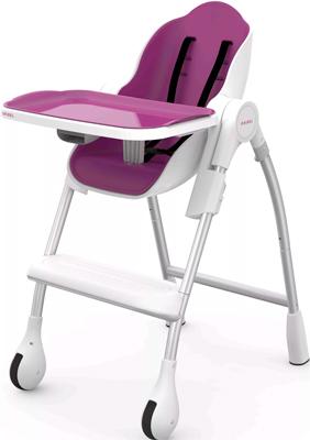 Стульчик для кормления Oribel Кокон сливовый OR 201-90006 пластиковая мебель oribel табуреты для детей страна чудес