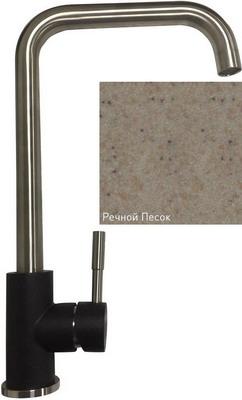 Кухонный смеситель Zigmund & Shtain 1400 речной песок кухонный смеситель zigmund amp shtain 1200 l речной песок