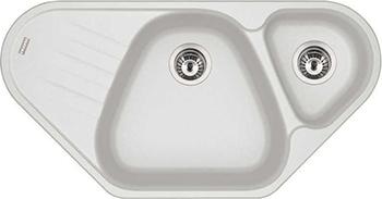 Кухонная мойка FRANKE AZG 661-E белая вентиль