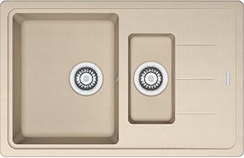 Кухонная мойка FRANKE BFG 651-78 стоп-вент бежевая