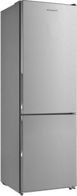 лучшая цена Двухкамерный холодильник Kraft KF-NF 300 X