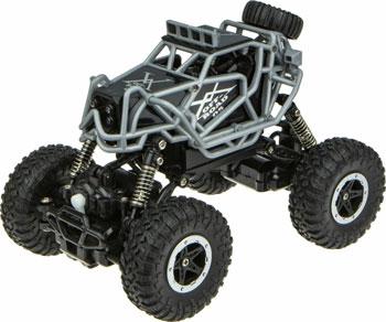 Машина раллийная 1 Toy Бигвил на р/у Драйв Аккум. 3.6V 4WD 14км/ч серо-черный недорого