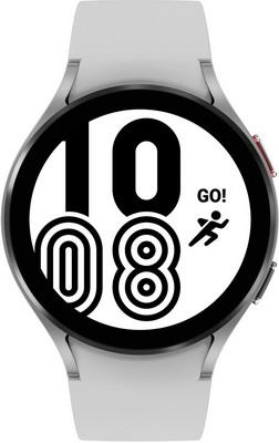 Умные часы Samsung Galaxy Watch 4 44мм Super AMOLED серебристый (SM-R870NZSACIS) умные часы samsung galaxy watch 46 мм серебристый