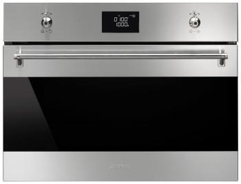 Встраиваемая микроволновая печь СВЧ Smeg SF 4309 MX недорго, оригинальная цена