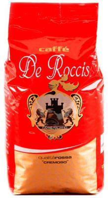 Кофе зерновой De Roccis Rosso (1kg)