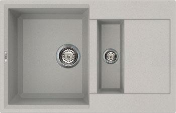 Кухонная мойка Elleci EASY 325 metaltek (79) aluminium LMY 32579