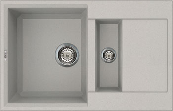 цена на Кухонная мойка Elleci EASY 325 metaltek (79) aluminium LMY 32579