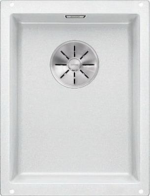 Кухонная мойка BLANCO SUBLINE 320-U SILGRANIT белый с отв.арм. InFino 523410 цены онлайн