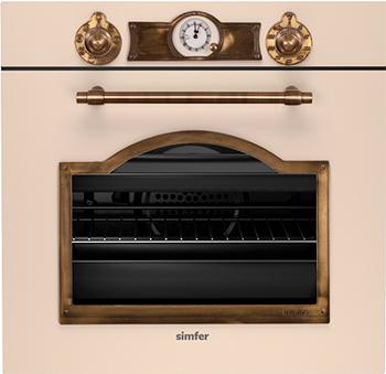 цена на Встраиваемый электрический духовой шкаф Simfer B 6EQ 78017