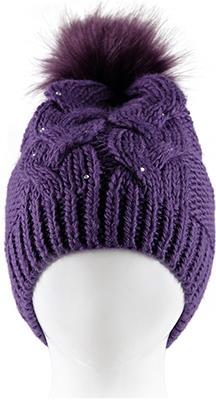 Шапочка Reike RKN 1718-2 bs purple р.52 Пурпурный