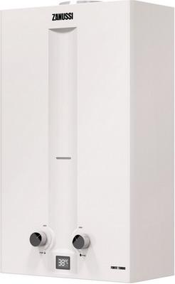 Газовый водонагреватель Zanussi GWH 12 Fonte Turbo газовый водонагреватель zanussi gwh 12 fonte