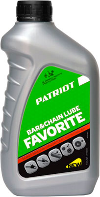Масло Patriot FAVORITE BAR&CHAIN LUBE 0 946л 850030601