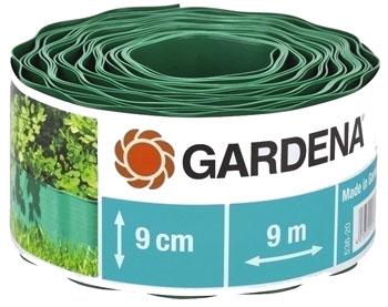 Садовый бордюр Gardena зеленый 9 см длина 9 м 00536-20 стоимость