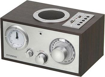 лучшая цена Радиоприемник Hyundai H-SRS 220 вишня