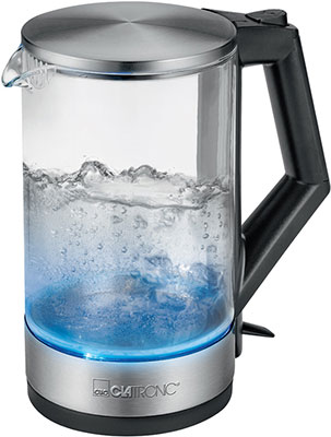 Чайник электрический Clatronic WKS 3641 G inox чайник электрический supra kes 1839w 2200 вт нержавеющая сталь 1 8 л нержавеющая сталь