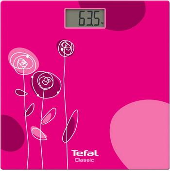 Весы напольные Tefal PP 1147 V0 CLASSIC DRAWING BLOOM ROSE весы tefal pp 1063v0