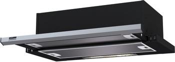 лучшая цена Вытяжка Krona Steel Kamilla slim 600 black/inox (2 мотора)