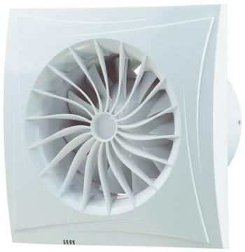 Вытяжной вентилятор BLAUBERG Sileo 125 T белый цена и фото