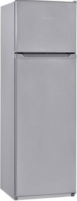 Двухкамерный холодильник NordFrost NRT 144 332 серебристый металлик фото