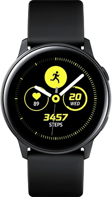 Часы Samsung Galaxy Watch active SM-R500N черный