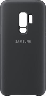 Чехол (клип-кейс) Samsung S9+ (G 965) SiliconeCover black EF-PG 965 TBEGRU смартфон samsung galaxy s9 64 gb sm g 965 f фиолетовый