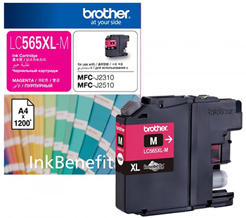 цена Картридж Brother LC 565 XLM пурпурный онлайн в 2017 году