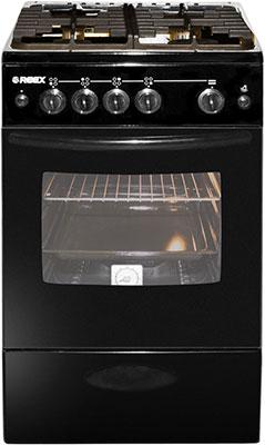 Газовая плита Reex CG-54297 eBk черный омрон шагомер электронный hj 325 ebk черный