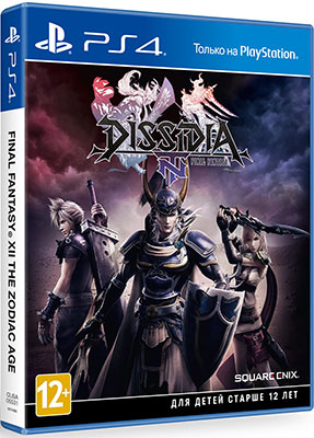 Игра для приставки Sony PS4 Dissidia Final Fantasy NT