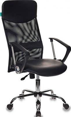 Фото - Кресло Бюрократ CH-600/OR-16 черный кресло бюрократ ch 808axsn or 16 искусственная кожа черный