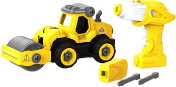 Конструктор Shantou Gepai, для сборки Машины для укладки асфальта с пультом ДУ (CJ-1365034) 1CSC20003891, Китай  - купить со скидкой