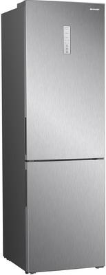 Двухкамерный холодильник Sharp SJ-B340XS-IX цена и фото