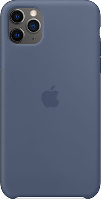 Чехол силиконовый Apple Silicone Case для iPhone 11 Pro Max Silicone Case Alaskan Blue MX032ZM/A цена